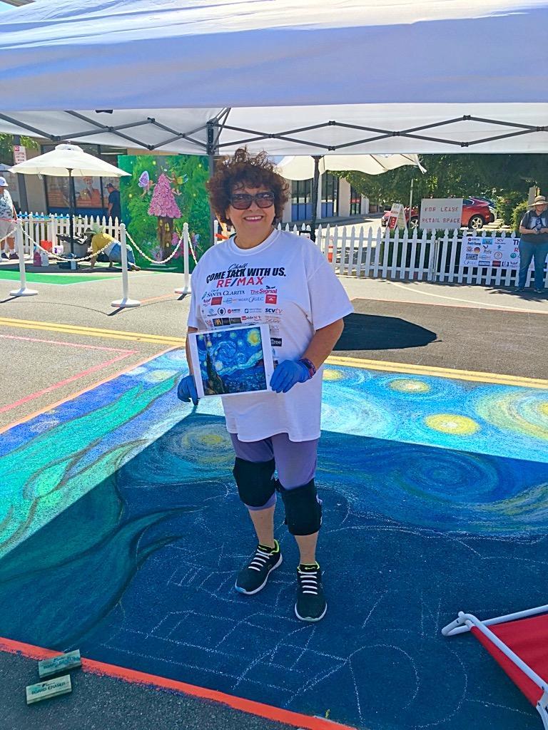 Santa Clarita Chalk Art Festival 2018